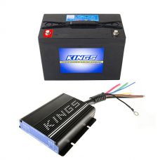 Adventure Kings 25AMP DC-DC Charger (with MPPT SOLAR) + AGM Deep Cycle Battery 98AH