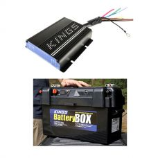 Adventure Kings 25AMP DC-DC Charger (with MPPT SOLAR) + Maxi Battery Box