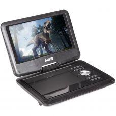 "Laser Portable DVD Player 9"" with Bonus Pack (DVD PT 9C)"