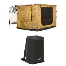 Adventure Kings 2.5 x 2.5m Awning Tent + Adventure Kings Dirty Gear Bag