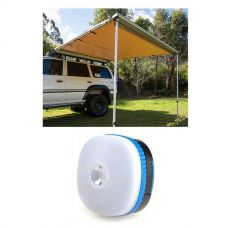 Adventure Kings Awning 2.5x2.5m + Adventure Kings Mini Lantern