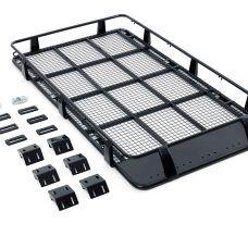 Steel Full Length Roof Rack Suitable for 100/105 Series LandCruiser | incl mounting brackets