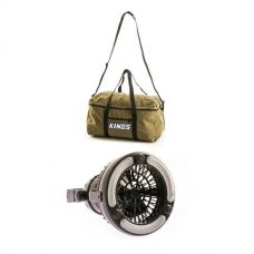 Adventure Kings 2in1 LED Light & Fan + Adventure Kings Travel Canvas Bag