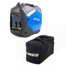 Adventure Kings 2.0kVA Inverter Generator + Kings Heavy-Duty Duffle Bag