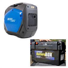 Adventure Kings 2.0kVA Inverter Generator + Maxi Battery Box