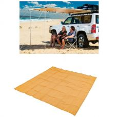 Adventure Kings Awning 2x2.5m + Mesh Flooring 3x3m