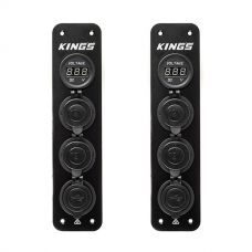 2x Adventure Kings 12V Accessory Panel