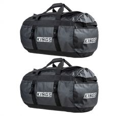 2x Kings 80L Extra-Large PVC Duffle Bag