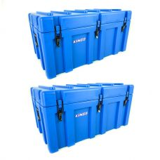 2x Adventure Kings 156L Storage Box