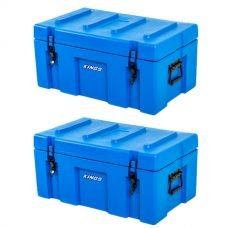 2x Adventure Kings 78L Tough Tool Box