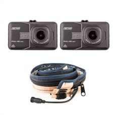 2x Adventure Kings Dash Camera + LED Strip Light