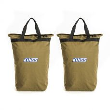 2x Adventure Kings Doona/Pillow Canvas Bag