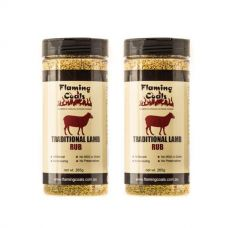 2x Flaming Coals Traditional Lamb Rub