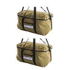 2 x Adventure Kings Travel Canvas Bag