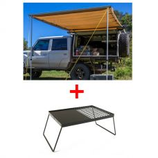 Adventure Kings Awning 2x3m + Essential BBQ Plate