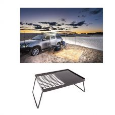 2 x 3m 2 in 1 Awning + Strip Light + Essential BBQ Plate