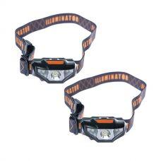 2x Illuminator LED Head Torch