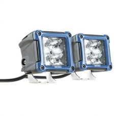 Kings 3in Work Lights (Pair) fitted with OSRAM LEDs | 1 Lux @ 146m (Pair) | 2180 Lumens (Pair) | Super-Efficient