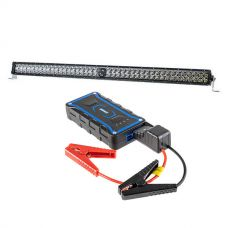"Kings 30"" Laser Light Bar + 1000A Lithium Jump Starter"