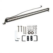 """Kings 30"""" Slim Line LED Light Bar + Sliding Brackets for Slim Line Light Bars (Pair)"""