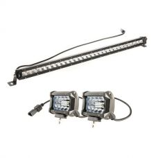 "Kings 30"" LETHAL MKIII Slim Line LED Light Bar + 4"" LED Light Bar"
