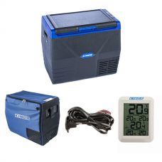 Kings 35L Fridge / Freezer + 35L Fridge Cover + 12V Fridge Wiring Kit + Wireless Fridge Thermometer