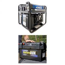 Adventure Kings 3.5kVA Open Generator + Maxi Battery Box