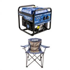 Adventure Kings 3.0kVA Inverter Generator + Adventure Kings Throne Camping Chair