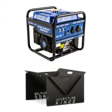 Adventure Kings 3.0kVA Inverter Generator + Portable Steel Fire Pit