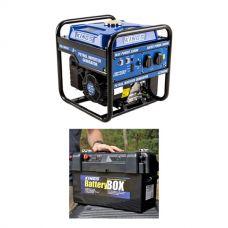 Adventure Kings 3.0kVA Inverter Generator + Maxi Battery Box