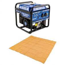 Adventure Kings 3.0kVA Inverter Generator + Mesh Flooring 3m x 3m
