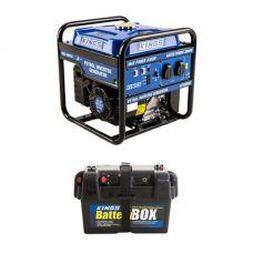 Adventure Kings 3.0kVA Inverter Generator + Battery Box