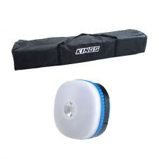 Kings 3x3m Polyester Gazebo Bag + Mini Lantern