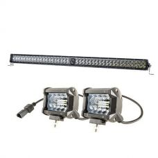"Kings 40"" Laser Light Bar + 4"" LED Light Bar"