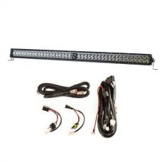 "Kings 40"" Laser Light Bar + Plug N Play Smart Wiring Harness Kit"