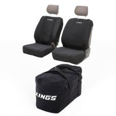 Kings Heavy-Duty Duffle Bag + Adventure Kings Neoprene Seat Covers