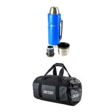 Kings 40L Large PVC Duffle Bag + 1.2L Vacuum Flask
