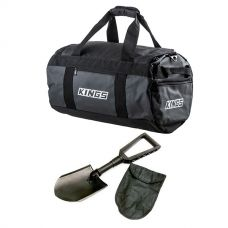 Kings 40L Large PVC Duffle Bag + Recovery Folding Shovel