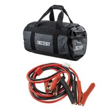 Kings 40L Large PVC Duffle Bag + Heavy-Duty Jumper Leads