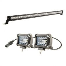 "Kings 40"" LETHAL MKIII Slim Line LED Light Bar + 4"" LED Light Bar"