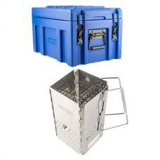 Kings 45L Tough Front Opening Storage Box + Kings Charcoal Starter