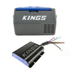 Adventure Kings 45L Camping Fridge + Adventure Kings 25AMP DC-DC Charger (with MPPT SOLAR)