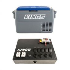 Adventure Kings 45L Camping Fridge  + 12V Control Box