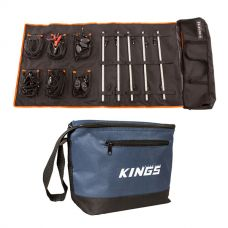Adventure Kings Complete 5 Bar Camp Light Kit + Cooler Bag