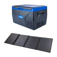 Adventure Kings 120W Solar Blanket with MPPT Regulator + Kings 50L Fridge / Freezer