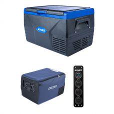 Kings 50L Fridge / Freezer + 50L Fridge Cover + 12V Accessory Panel