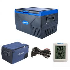 Kings 50L Fridge / Freezer + 50L Fridge Cover + 12v Fridge Wiring Kit + Adventure Kings Wireless Fridge Thermometer