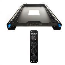 Titan 60L Fridge Slide + Adventure Kings 12V Accessory Panel