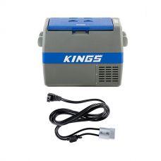 Adventure Kings 60L Camping Fridge/Freezer + Kings 1.8m 12v Fridge Cable
