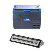 Kings 65L Fridge / Freezer + Adventure Kings Vacuum Sealer